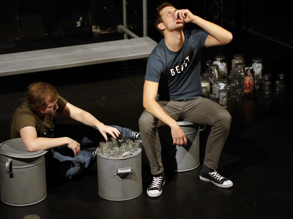Snímek z představení Mate